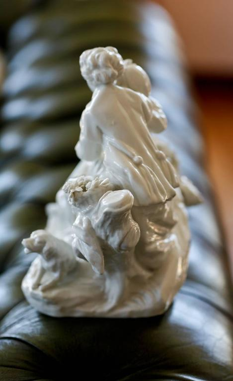 French 18th Century Biscuit Porcelain by Boucher