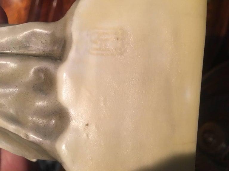 Austrian Royal Vienna Artist and Sculptor Ceramic Women For Sale