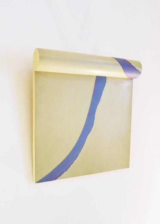 "Bruce Tippett ""Scroll"" Painting 2"