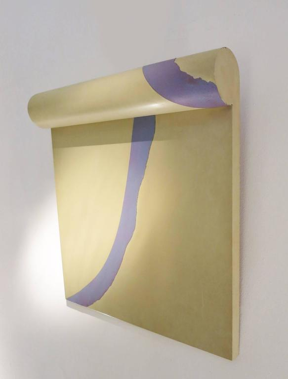 "Bruce Tippett ""Scroll"" Painting 4"