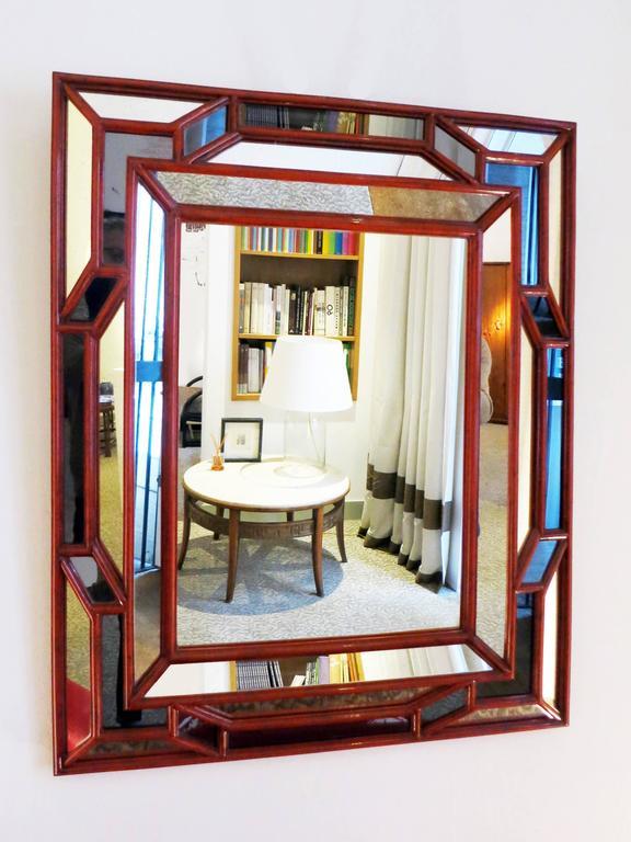 Mirror by galerie maison et jardin 1970s at 1stdibs for Maison et jardin