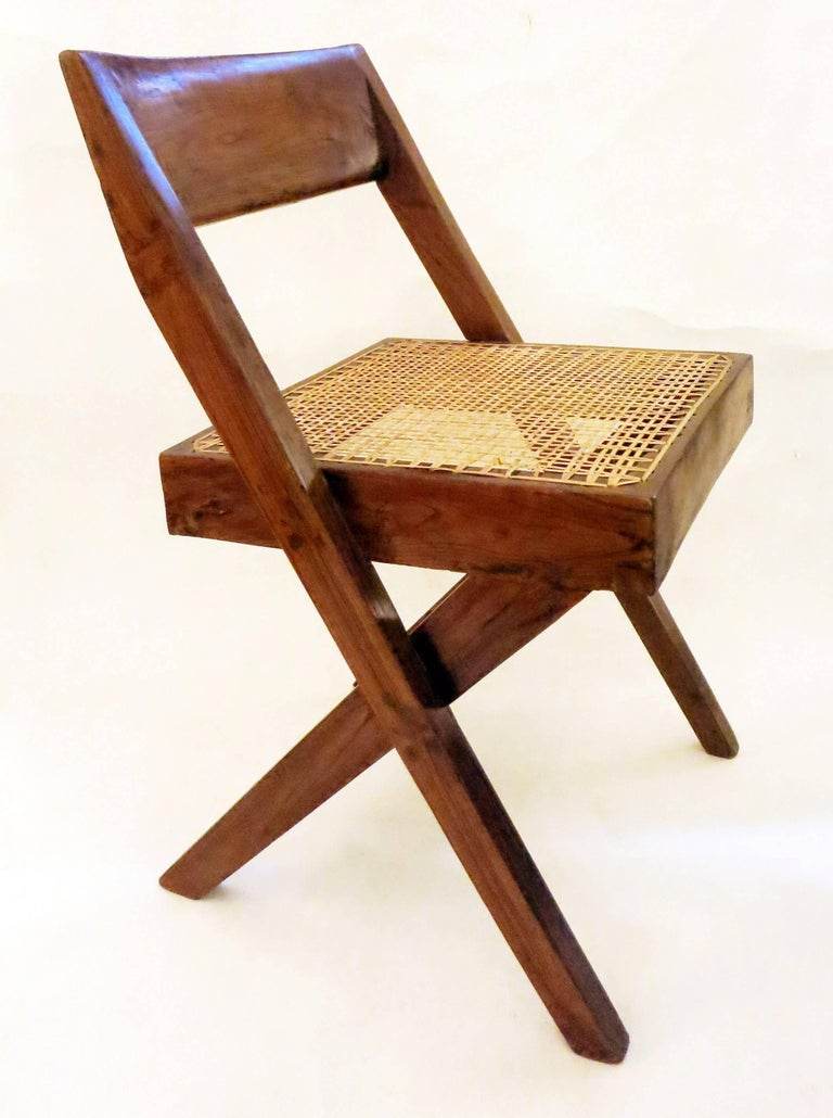 Pierre Jeanneret Library Chair, 1950s 2