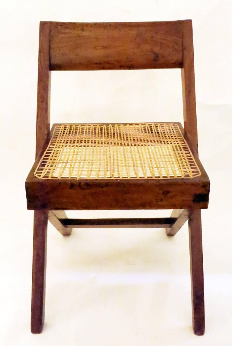 Pierre Jeanneret Library Chair, 1950s 3