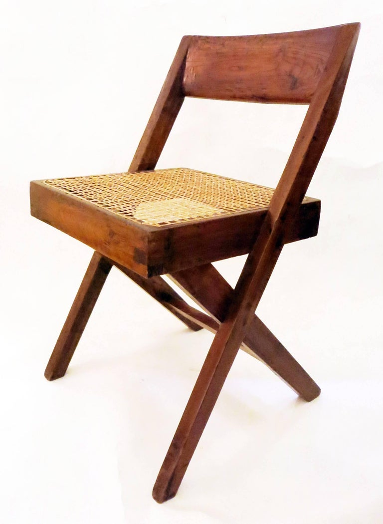 Pierre Jeanneret Library Chair, 1950s 4