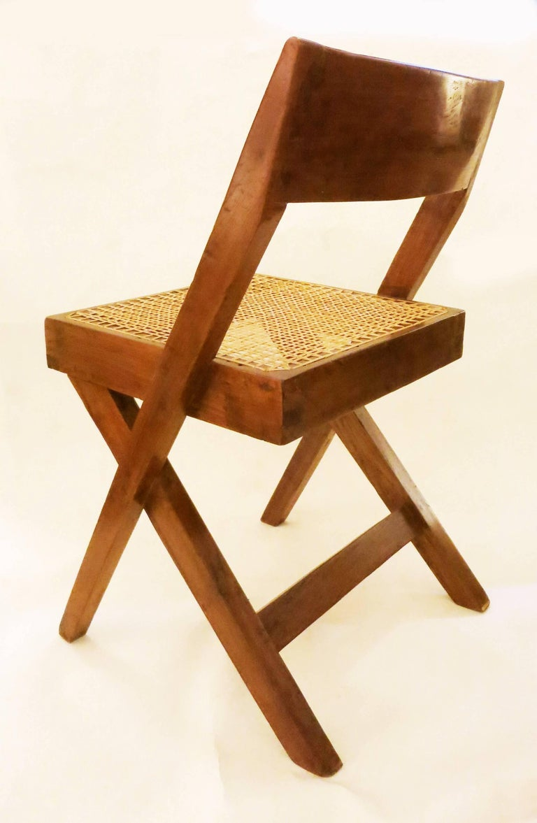 Pierre Jeanneret Library Chair, 1950s 5