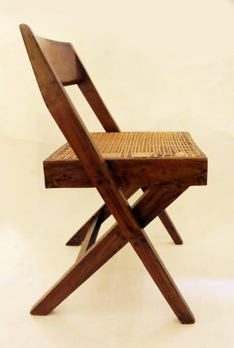 Pierre Jeanneret Library Chair, 1950s 7