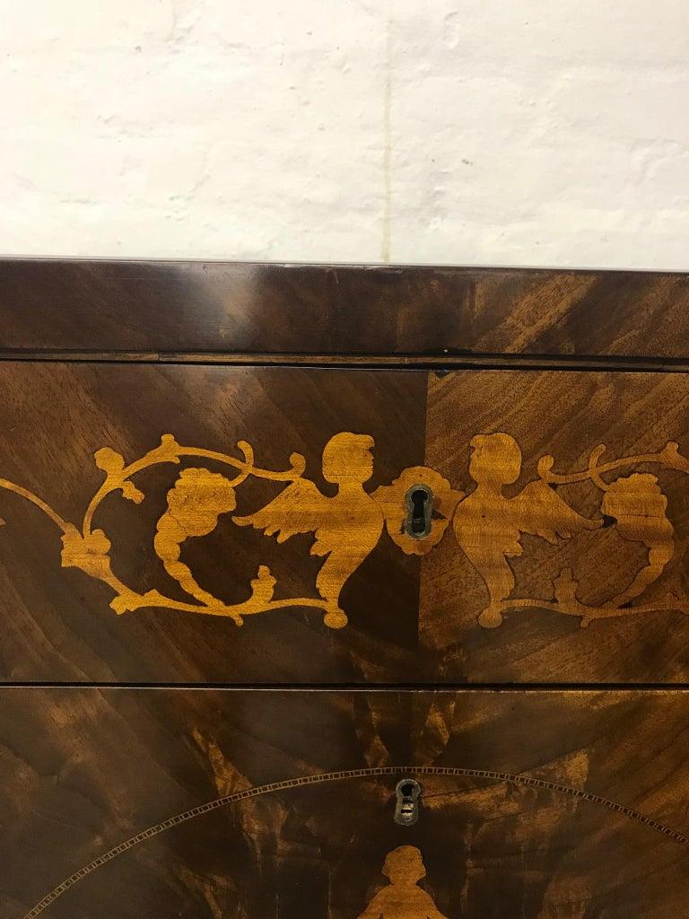 Mahogany Empire Dresser 1810 For Sale