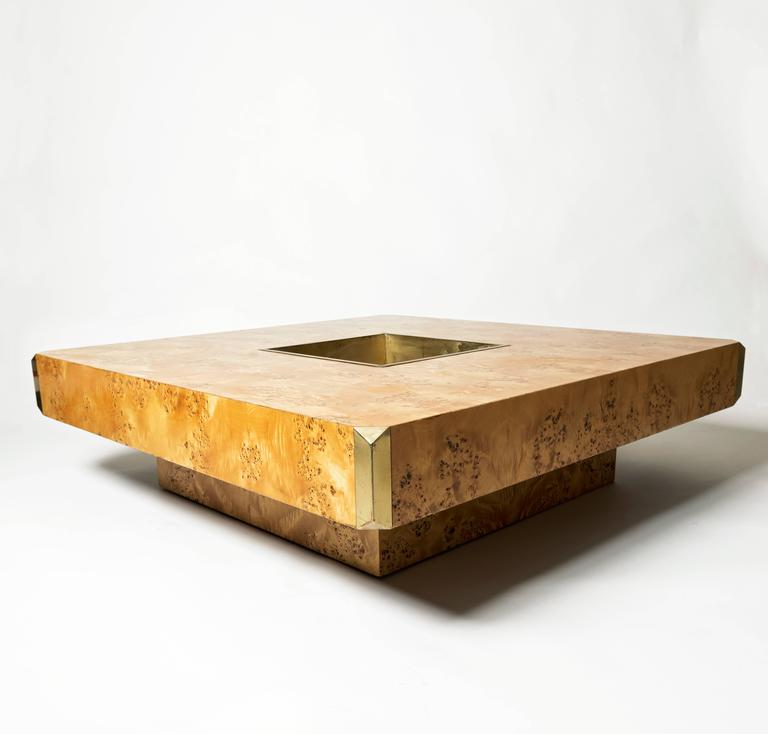 Willy rizzo alveo coffee table and bar for sale at 1stdibs for Table willy rizzo
