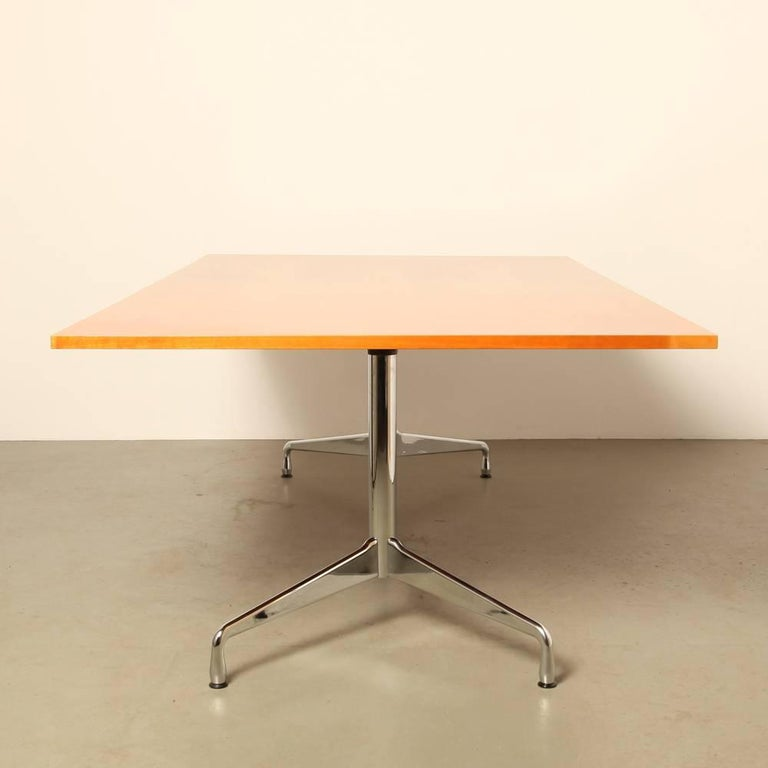 eames segmented table conference table by charles eames for vitra for sale at 1stdibs. Black Bedroom Furniture Sets. Home Design Ideas