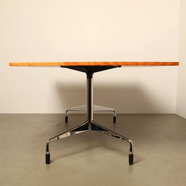 eames raised segmented table conference table by charles eames for vitra for sale at 1stdibs. Black Bedroom Furniture Sets. Home Design Ideas