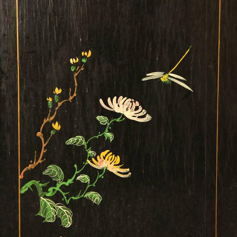 Large Chinese Room Divider or Folding Screen 10