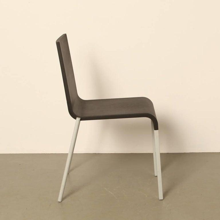 Vitra 03 chair by maarten van severen in black for sale for Chaise 03 van severen