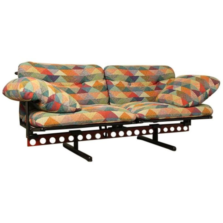 Poltrona Frau 1980s Sofa
