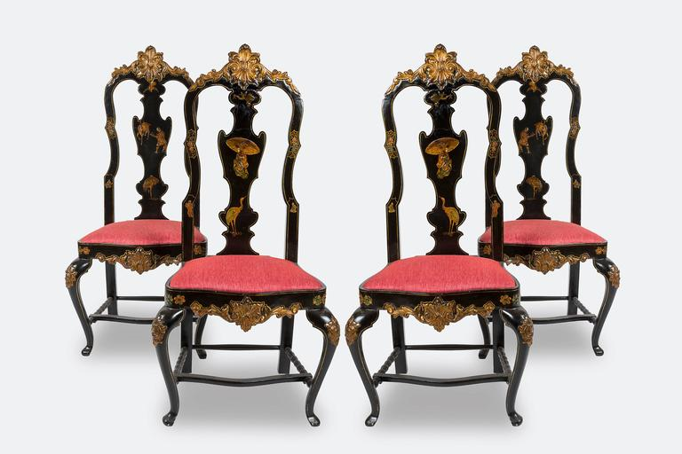Set of Four Chinese Style Chairs 2