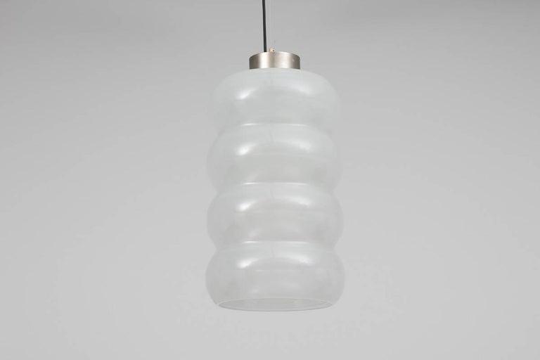 Mid-20th Century Carlo Nason, Glass Pendant, Mazzega Editions For Sale