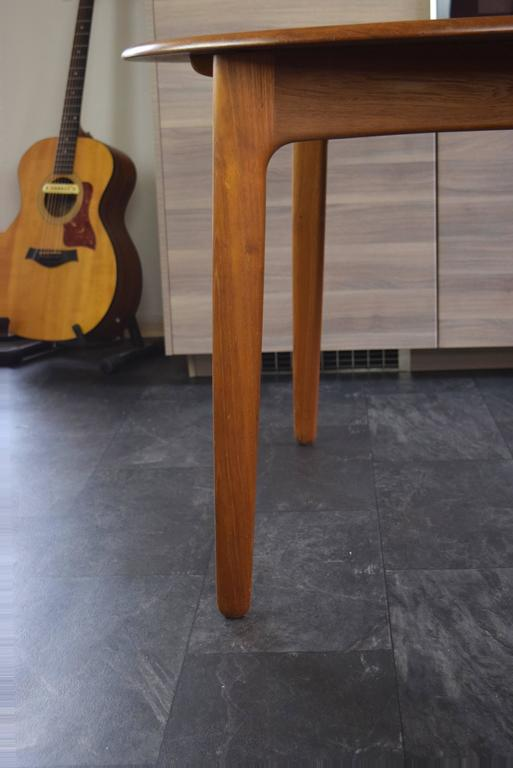 Teak Dining Table by Svend Aage Madsen For Sale 1