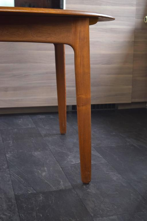 Teak Dining Table by Svend Aage Madsen For Sale 2