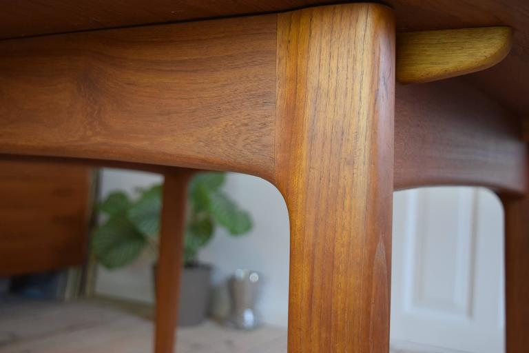 Teak Dining Table by Svend Aage Madsen For Sale 3