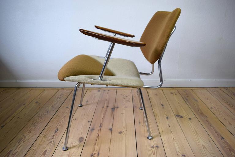 Mid-Century Modern Danish Studio Chair by Vermund Larsen, 1961 For Sale