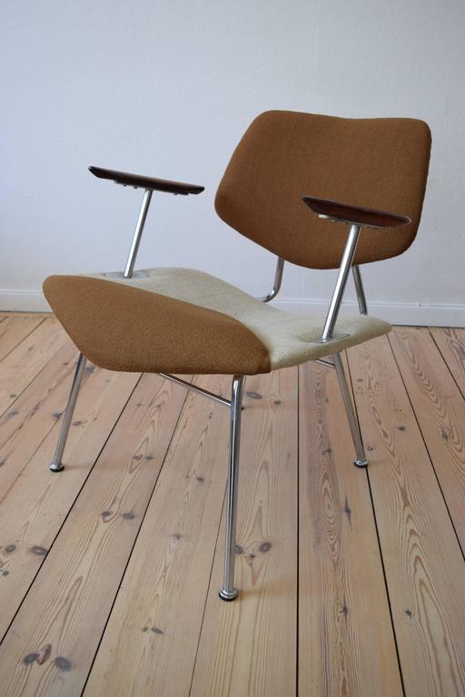 Mid-20th Century Danish Studio Chair by Vermund Larsen, 1961 For Sale