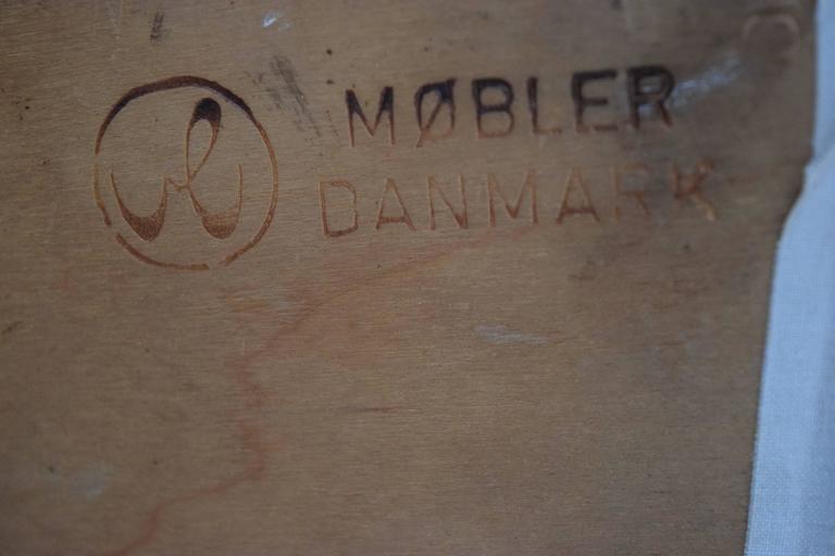 Danish Studio Chair by Vermund Larsen, 1961 For Sale 4