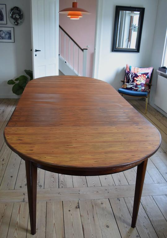 Omann Jun Model 55 Rosewood Dining Table For Sale At 1stdibs