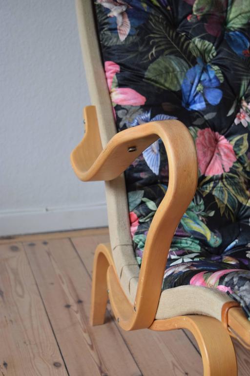 Swedish Bruno Mathsson Pernilla Chair by DUX For Sale