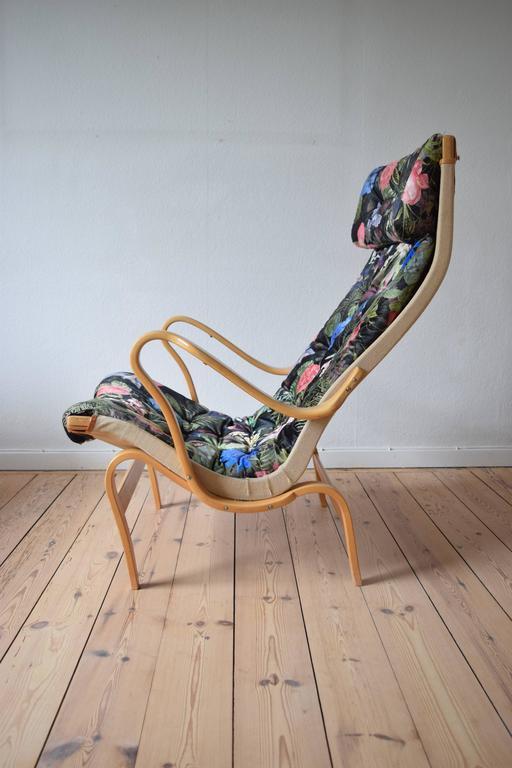 Mid-Century Modern Bruno Mathsson Pernilla Chair by DUX For Sale