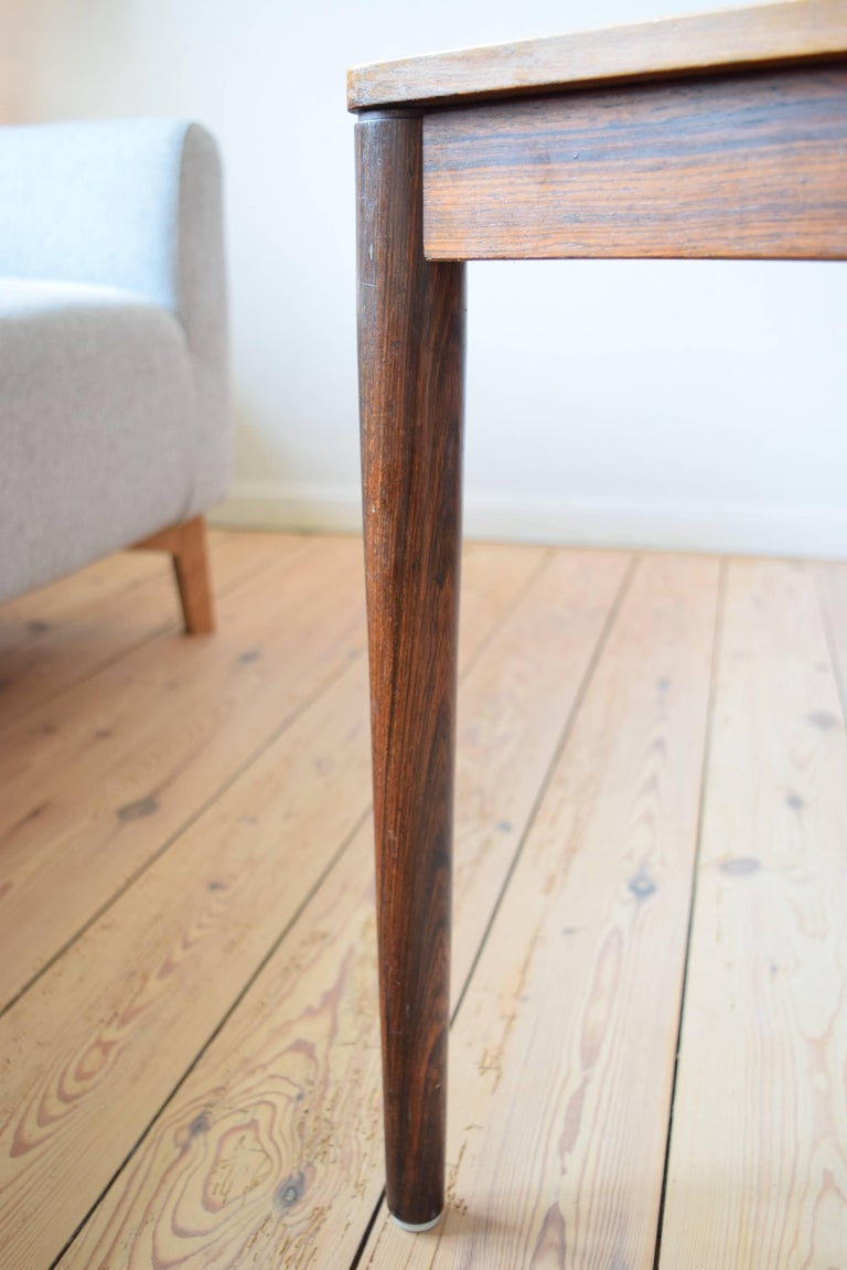 Mid-20th Century Brazilian Rosewood Coffee Table from Trioh, Denmark, 1960s For Sale