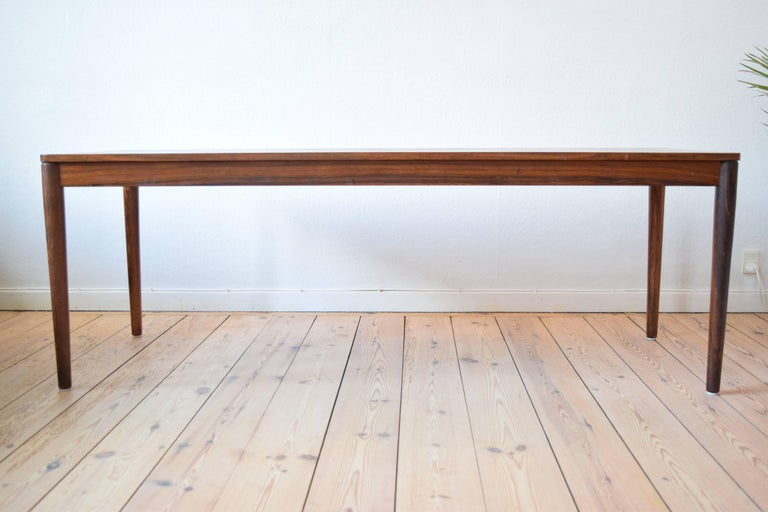 Brazilian Rosewood Coffee Table from Trioh, Denmark, 1960s In Good Condition For Sale In Nyborg, DK