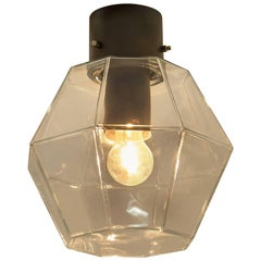 1 of 14 Limburg Geometric Glass Outdoor/Indoor Flush Mount Lights, 1970