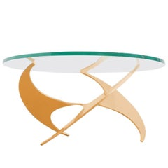 Knut Hesterberg K9 Propellor Side of Coffee Table Ronald Schmitt, 1964