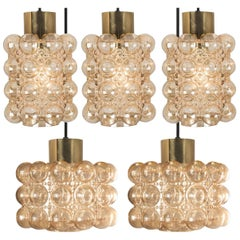 Set Five Light Fixtures by Helena Tynell, 1970s