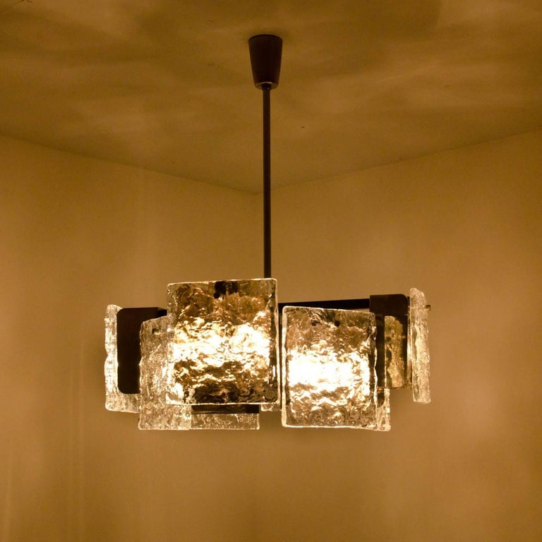 Murano Glass Ceiling Light from Kalmar, 1960s For Sale at 1stdibs
