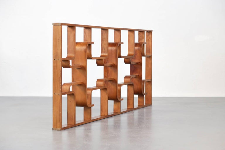 Four Room Dividers, Wall Units by Ludvik Volak, Good Condition, 1950s 3