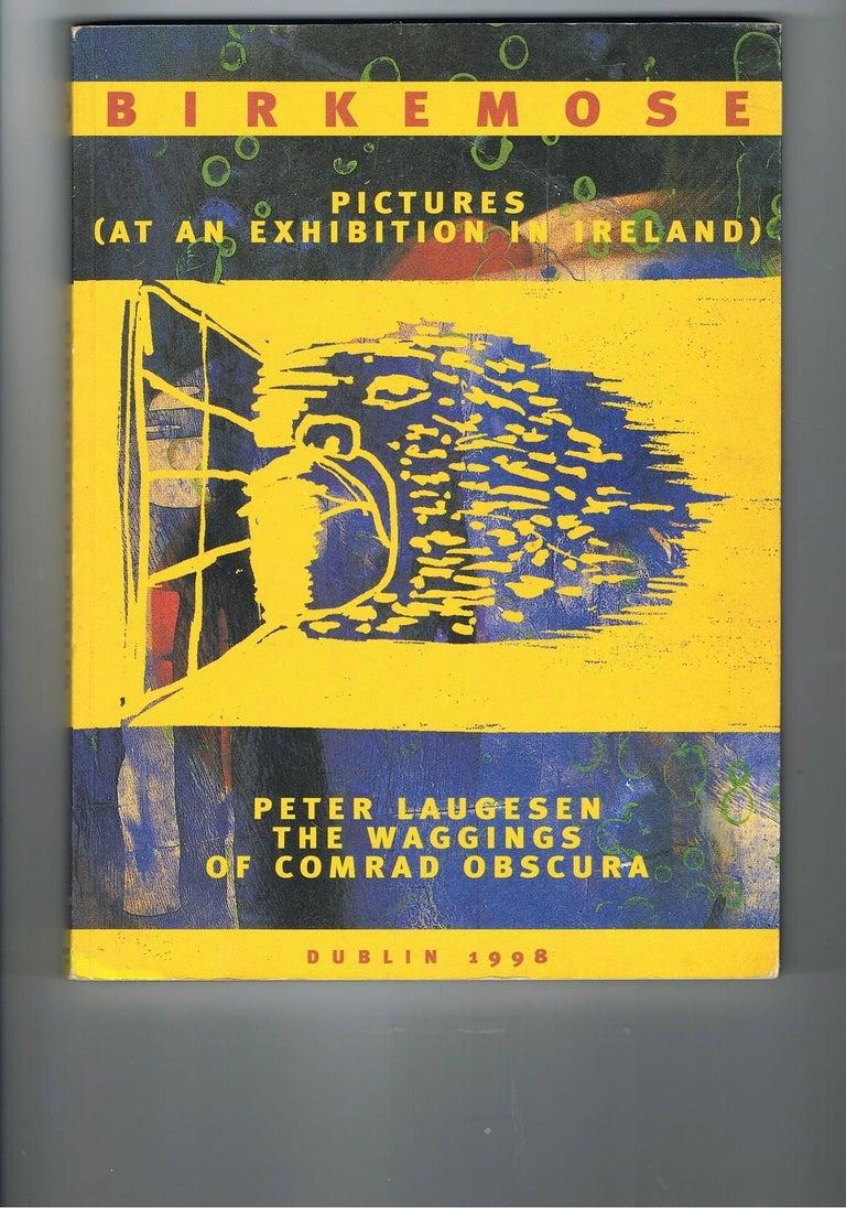 Abstraktes Gemälde von Jens Birkemose, Wasserfarben und Acryl auf Papier 9