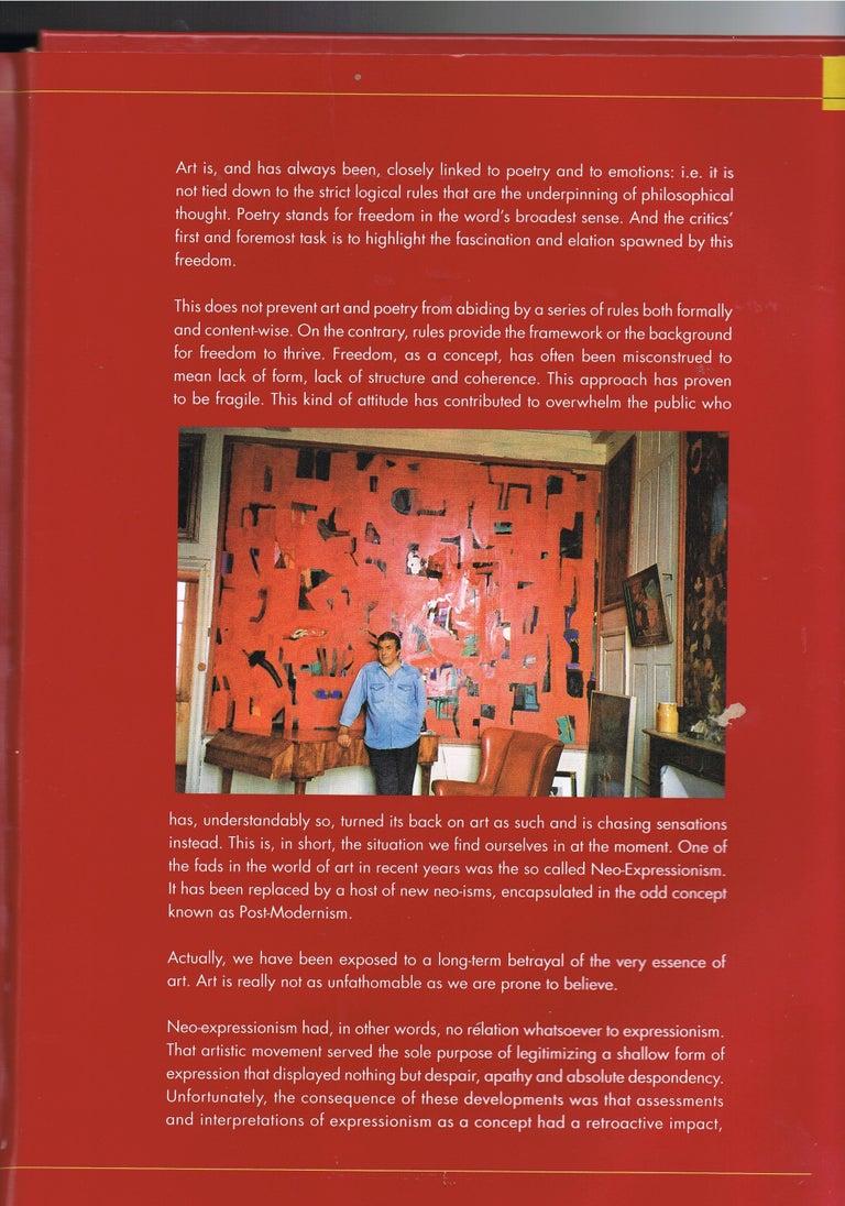 Abstraktes Gemälde von Jens Birkemose, Wasserfarben und Acryl auf Papier 7