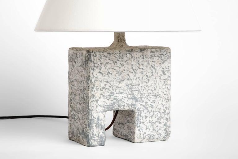 Organic Modern Cast Resin Cubo Table Lamp, Kacper Dolatowski For Sale