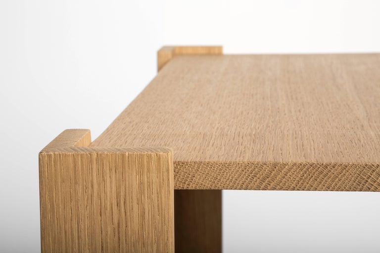Hand-Carved FERRER Corner Bracket Side Table, FERRER
