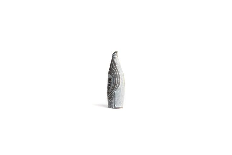 Glazed Midcentury French Ceramic Jug, Signed