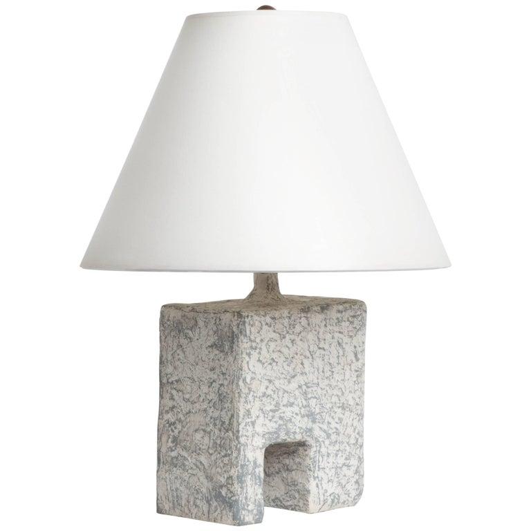 Cast Resin Cubo Table Lamp, Kacper Dolatowski