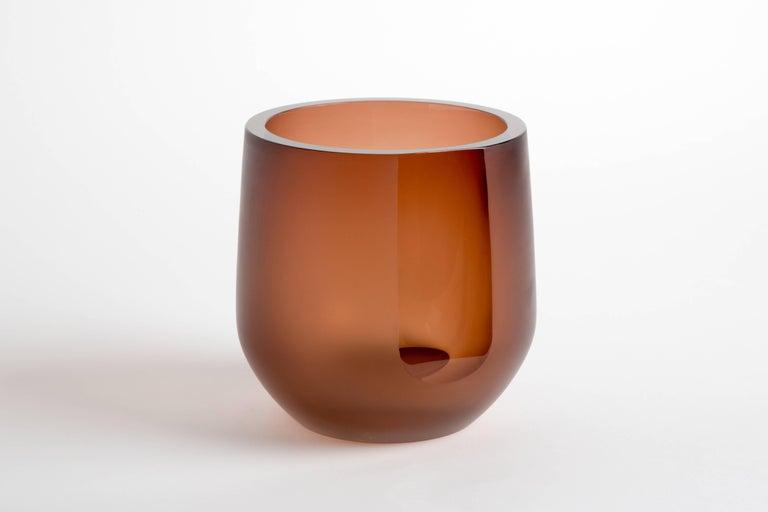 Handblown Glass Porto Ice Bucket, Andrew Hughes 2