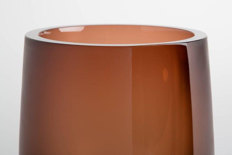 Handblown Glass Porto Ice Bucket, Andrew Hughes 4