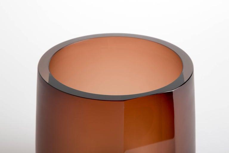 Handblown Glass Porto Ice Bucket, Andrew Hughes 5
