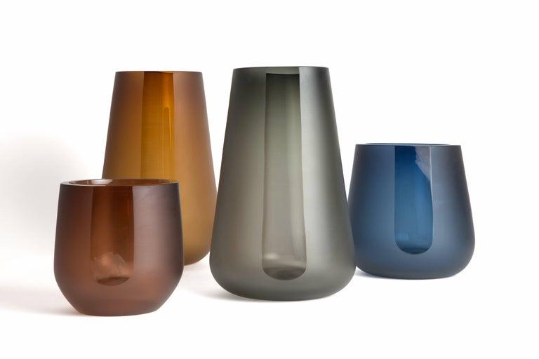 Handblown Glass Porto Ice Bucket, Andrew Hughes 6