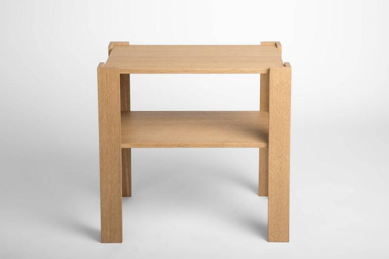 FERRER Corner Bracket Side Table, FERRER 3