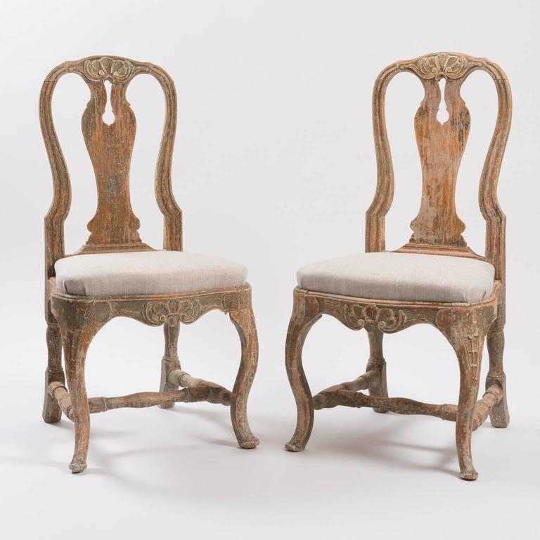 18th Century Swedish Rococo Chairs For Sale At 1stdibs