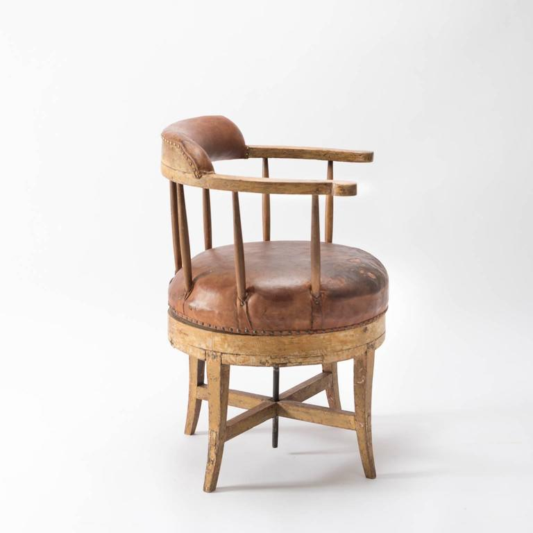 19th century gustavian swivel chair at 1stdibs
