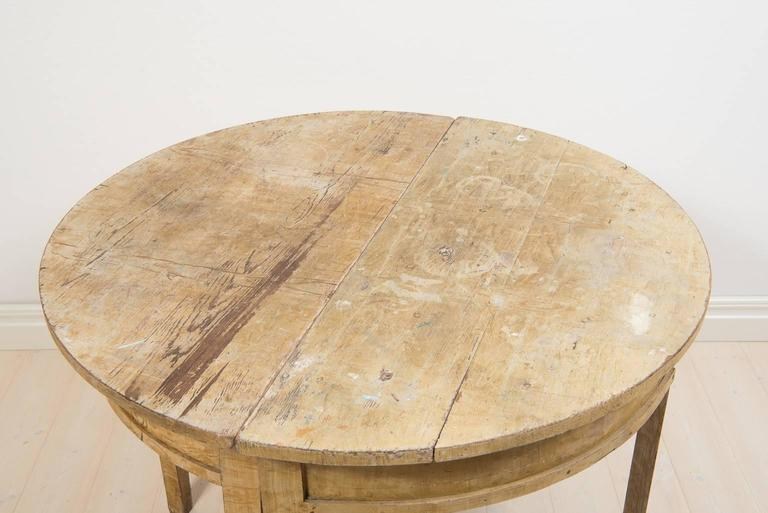 Pair of 19th Century Demilune Table In Good Condition For Sale In Kramfors, SE