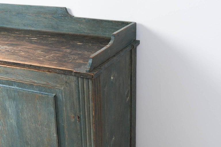 18th Century Gustavian Sideboard Dry Scraped to Original Paint For Sale 5
